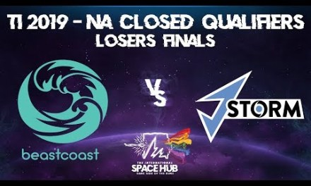 beastcoast vs J.Storm Game 2 – TI9 NA Regional Qualifiers: Losers' Finals