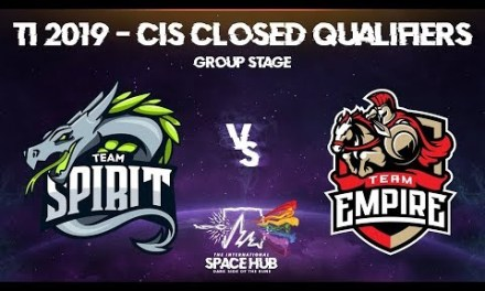 Spirit vs Empire – TI9 CIS Regional Qualifiers: Group Stage