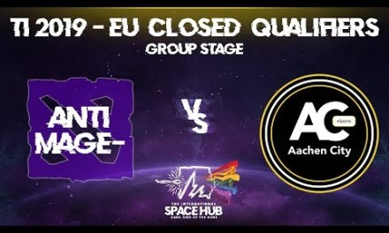 Anti-MagE- vs Aachen – TI9 EU Regional Qualifiers: Group Stage