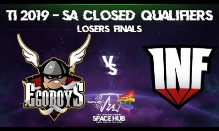 EgoBoys vs Infamous Game 2 – TI9 SA Regional Qualifiers: Losers' Finals