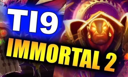TI9 IMMORTAL TREASURE 2 –  THE INTERNATIONAL 2019 DOTA 2