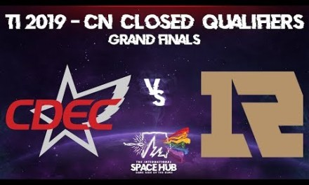 CDEC vs Royal Never Give Up Game 1 – TI9 CN Regional Qualifiers: Grand Finals