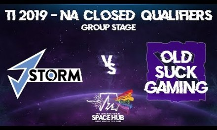 J.Storm vs Old Suck Gaming – TI9 NA Regional Qualifiers: Group Stage