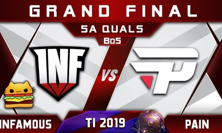 Infamous vs paiN Grand Final SA TI9 The International 2019 Highlights Dota 2
