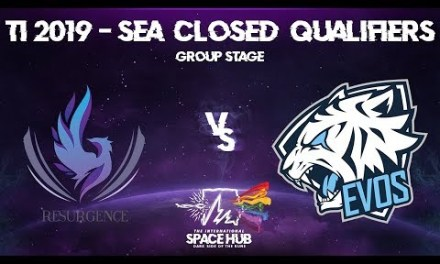 Resurgence vs EVOS – TI9 SEA Regional Qualifiers: Group Stage