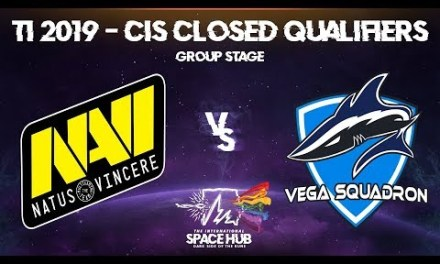 Na`Vi vs Vega – TI9 CIS Regional Qualifiers: Group Stage