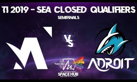 Amplfy vs Adroit Game 2 – TI9 SEA Regional Qualifiers: Semifinals