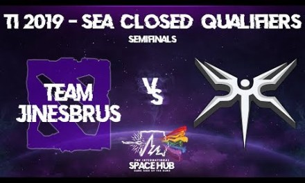 Jinesbrus vs Mineski Game 1 – TI9 SEA Regional Qualifiers: Semifinals