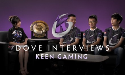 Keen Gaming Interview with Dove – The International 2019