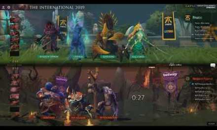 [EN] NIP vs Fnatic – The International 2019 Group Stage