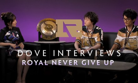 Royal Never Give Up Interview with Kaci – The International 2019