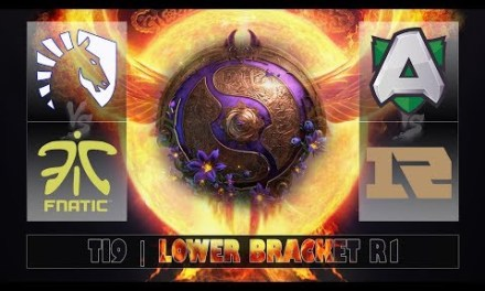 ALLIANCE vs RNG – LIQUID vs FNATIC | Ti9 Lower Bracket R1 (Bo1)