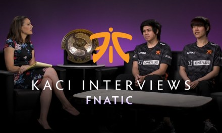 Fnatic Interview with Kaci – The International 2019