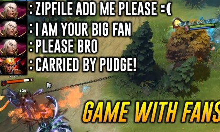 Zipfile Pudge [Game with Fans] Dota 2