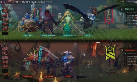 [EN] PSG.LGD vs Chaos – The International 2019 Group Stage
