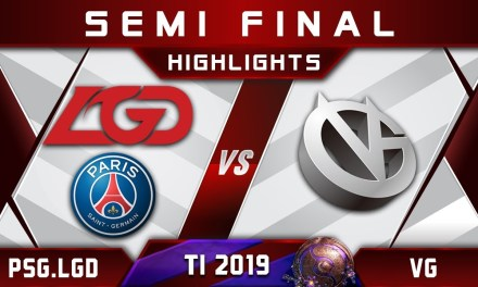 PSG.LGD vs VG TI9 Semi Final The International 2019 Highlights Dota 2