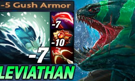 TIDE LEVIATHAN [TOTAL MINUS ARMOR BUILD] DOTA 2