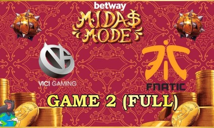 Fnatic vs VG CN Grand Finals Game 2 – Betway Midas Mode 2
