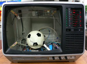 Fuball im Fernsehn