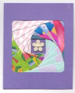 Pretty Handmade Card Using Iris Folding Dot Com Women