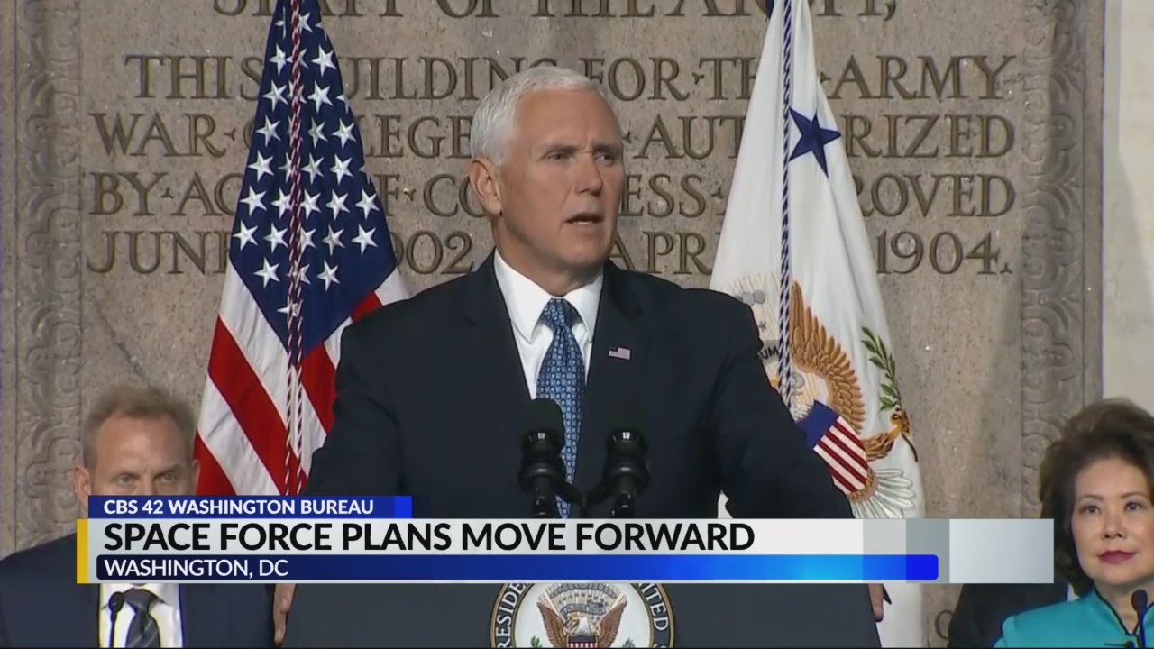 Space Force plans move forwards