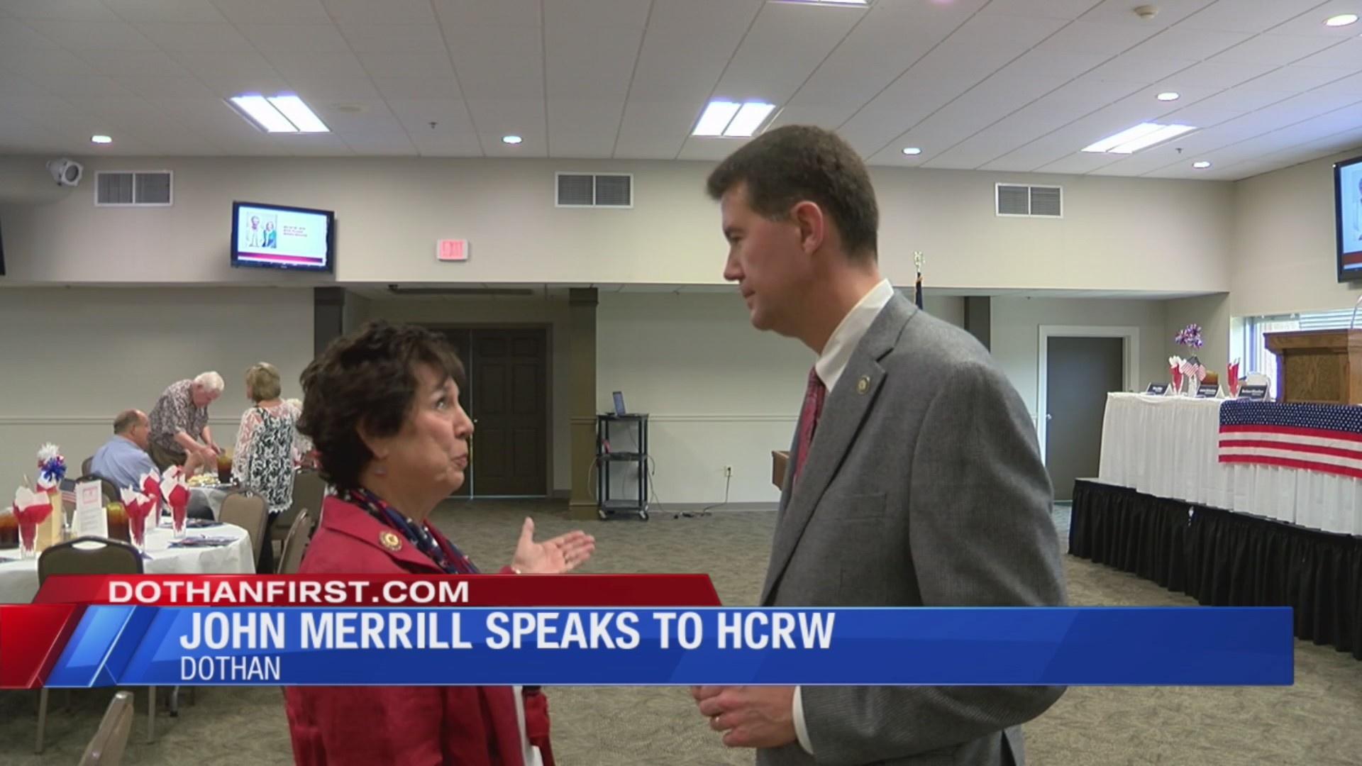 State Secretary visits Houston County Republican Women