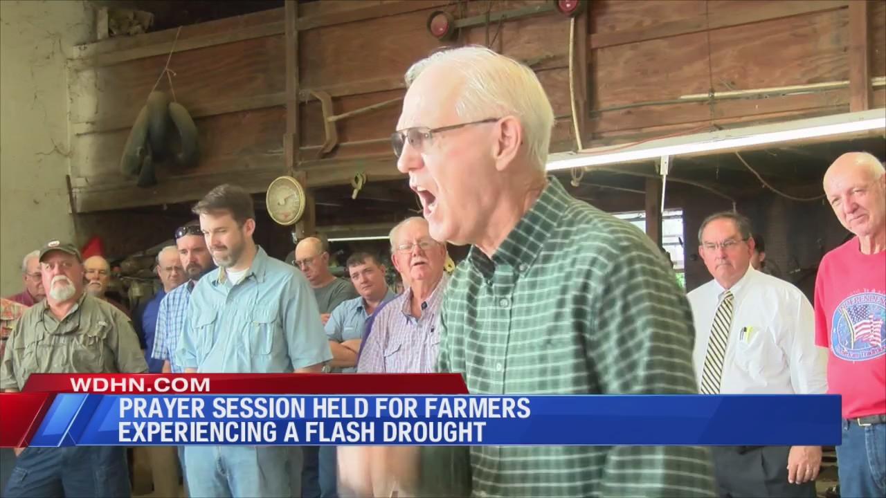 Prayer session held for rain