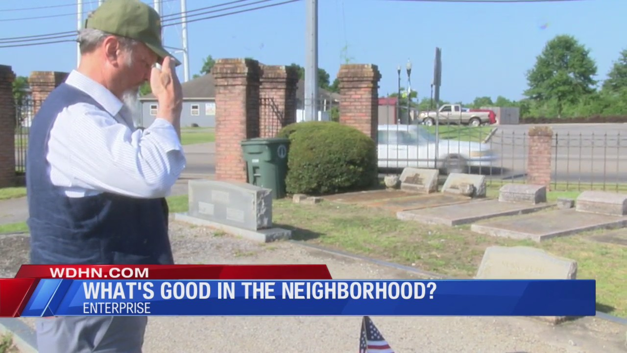 What's Good in the Neighborhood: Paying respect to the fallen