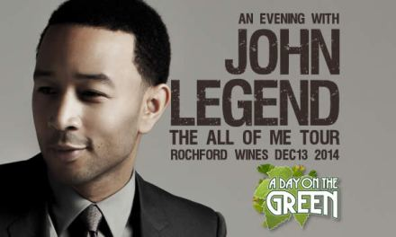 John Legend in the Yarra Valley