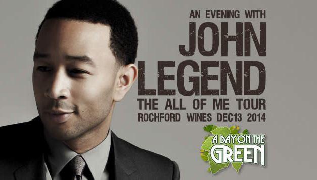 John Legend in the Yarra Valley