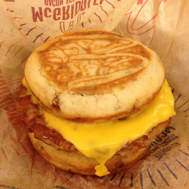 McGriddles for all day McDonalds Breakfast