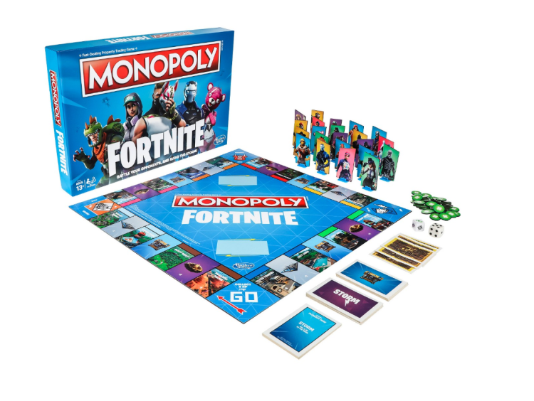 Fortnite Monopoly at Target