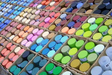 spray paint colors