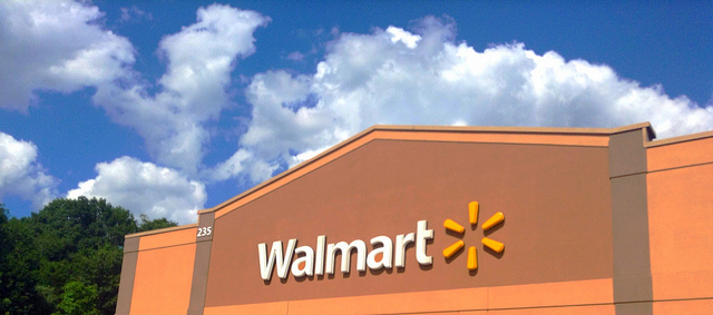 Photo of Walmart building