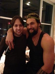 Me and Jason Momoa
