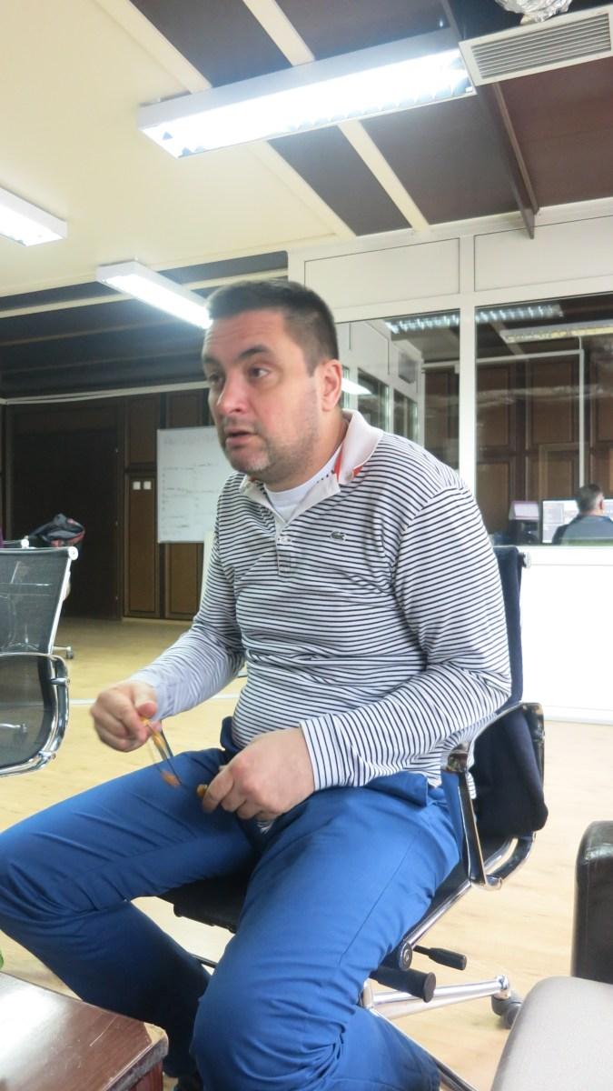 Iza maske Đorđa Čvarkova - Dimitrije Banjac, lično ! (intervju)
