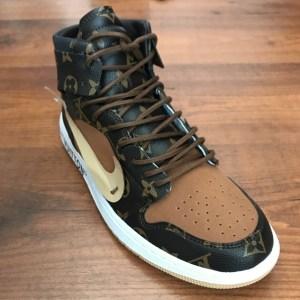 Louis Vuitton OFF-WHITE Nike Air Jordan 1