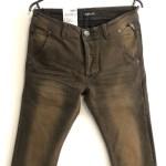 Replay ResinPlus+ brown slim-skinny stretch denim jeans