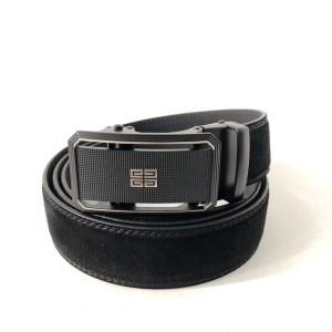 Givenchy Black suede belt