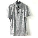 GIORGIO ARMANI Grey short sleeve golf t-shirt