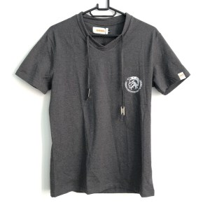 DSL Dark Grey V-neck t-shirt - dot made