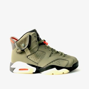 "Air Jordan 6 ""Travis Scott"" Olive Green"