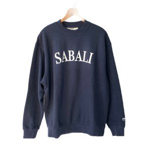 SABALI Navy Blue round neck sweater