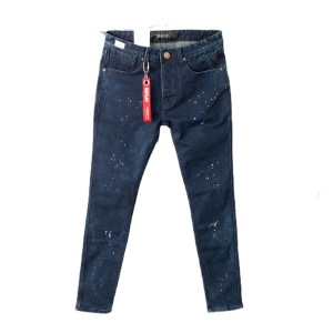 """REPLAY """"Deep blue-stained"""" denim jeans - dot made"""