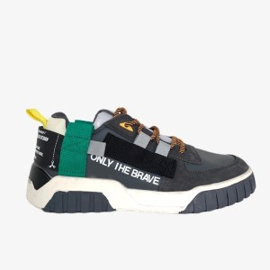 """DSL """"Only The Brave"""" sneakers - Grey - dot made"""