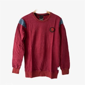 "DIESEL - DSL ""Denim touch"" maroon sweater - dot made"