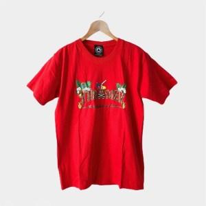 Thrasher Red short sleeve round neck t-shirt - dot made