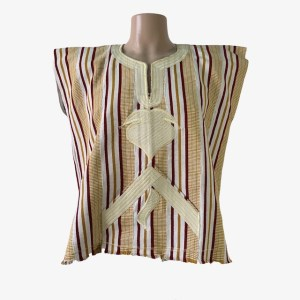 "OB ""Original kente"" cream dashiki shirt - dot made"