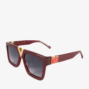 "LV ""Wayfarer"" maroon sunglasses – Z2376E – dot made"
