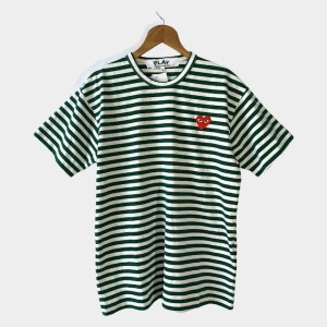 "PLAY Comme des Garcons ""Striped GW"" t-shirt - dot made"